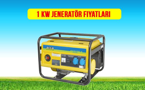 1 kw jeneratör fiyat