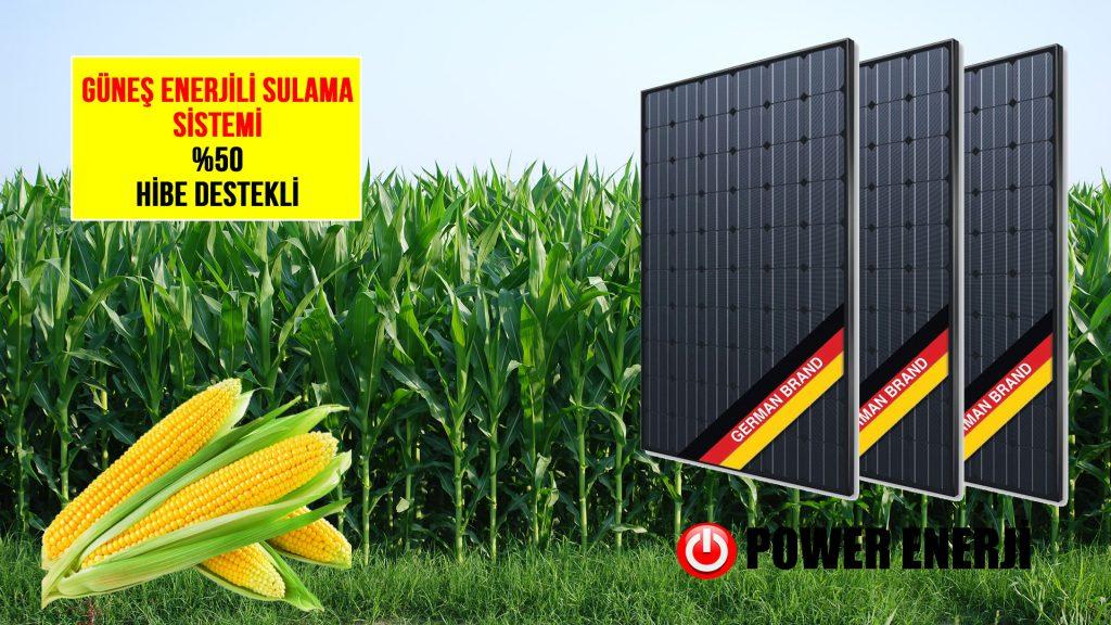 Güneş Enerjili Tarımsal Sulama Sistemi