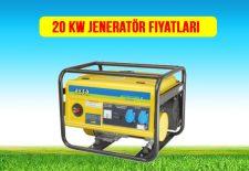 20 kw jeneratör fiyat