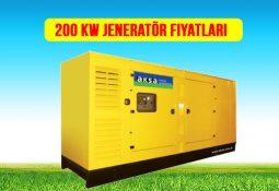 200 kw jeneratör fiyat