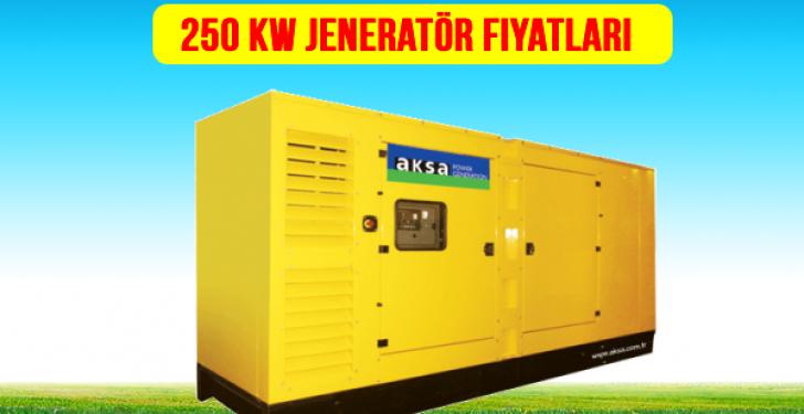 250 kw jeneratör fiyat