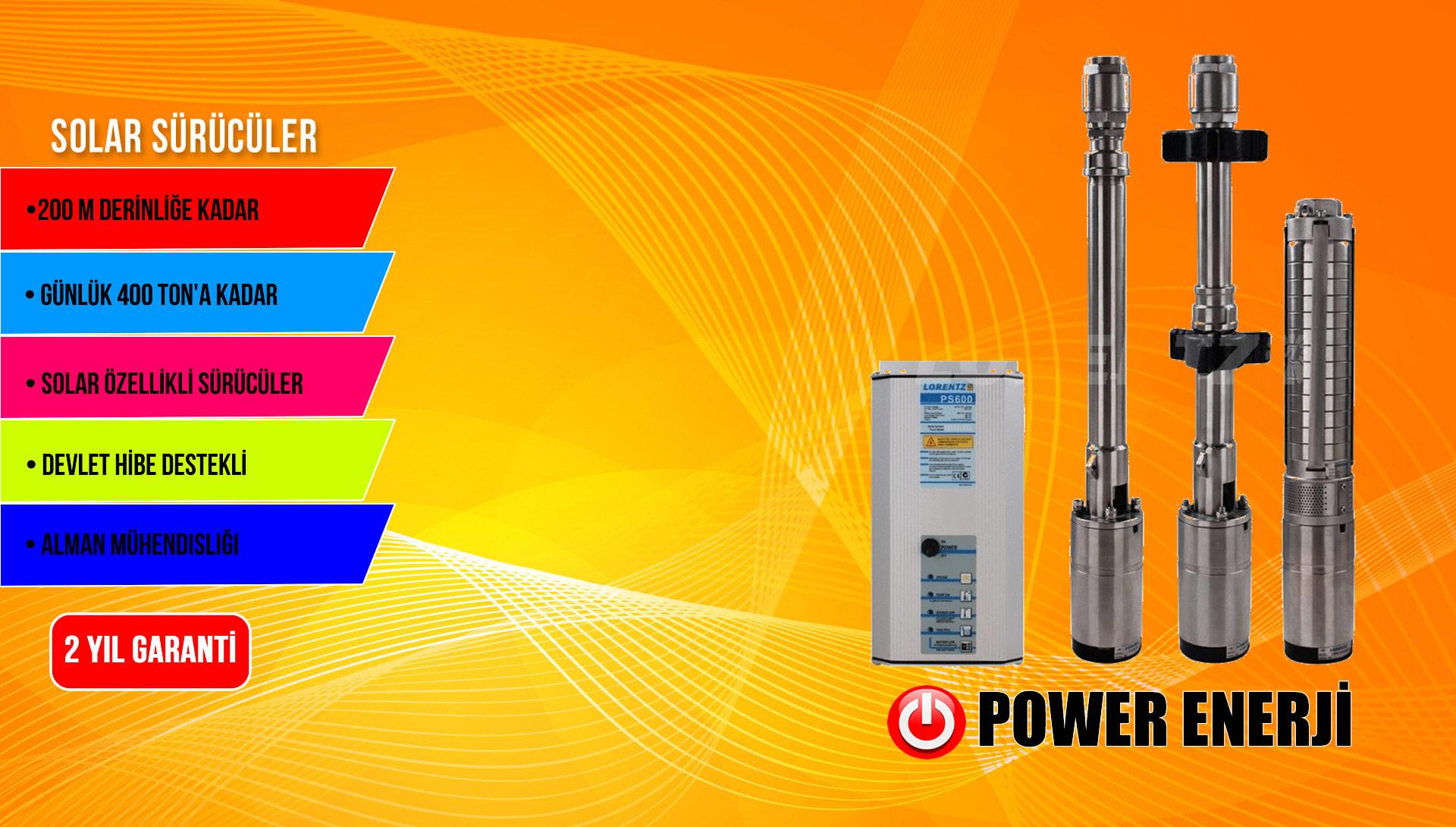 Güneş Enerjisi Pompası
