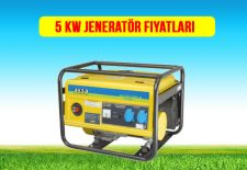 5 kw jeneratör fiyat