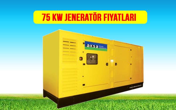 75 kw jeneratör fiyat