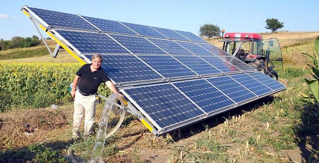 Güneş Enerjisi İle Tarımsal Sulama