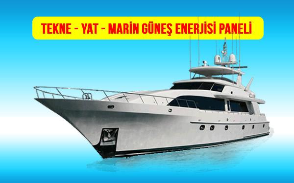 Solar Güneş Panelleri Tekne, Yat ve Marin Fiyatları