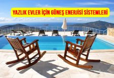 Yazlık Evler için Güneş Enerjisi Fiyatları