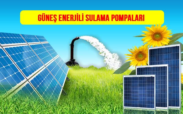 Güneş Enerjili Sulama Sistemleri