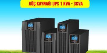UPS Kesintisiz Güç Kaynağı 1kVA-2kVA-3kVA Fiyatları