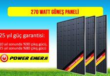 270 watt güneş paneli fiyatları, tommatech, telefunken, talesun, jinko, kanadian, alman malı güneş paneli