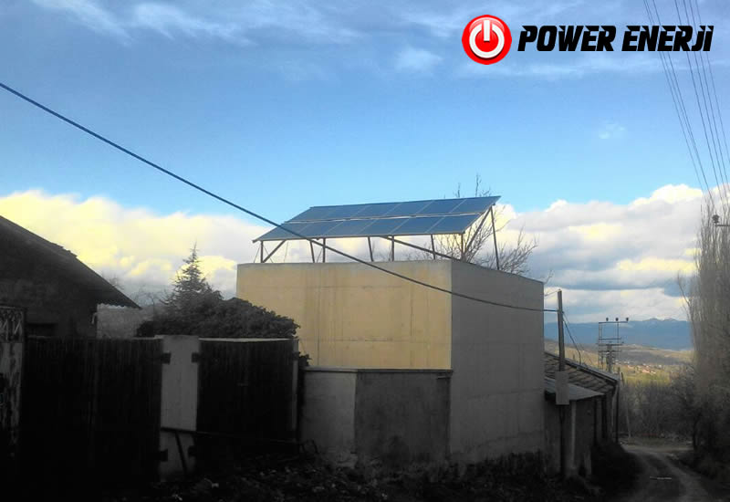 Güneş Enerjili Köy Suyu Projesi