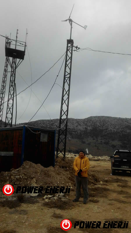 rüzgar türbini elektrik üretimi