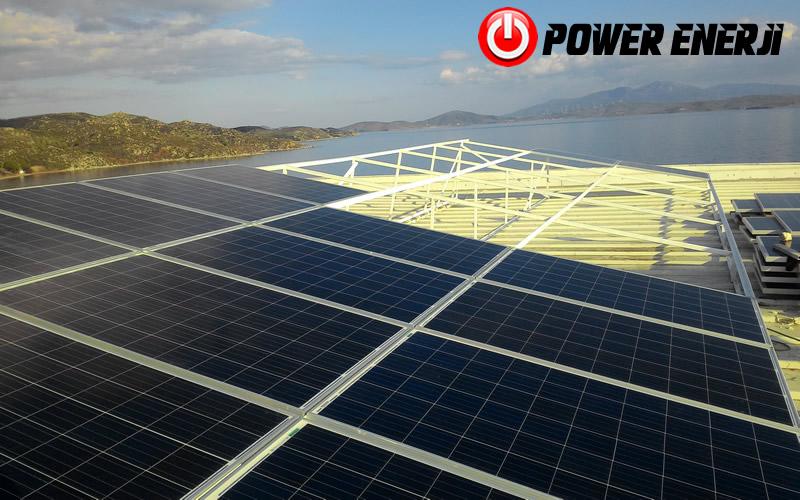 10 kw çatı üzeri güneş enerji santrali. (9)