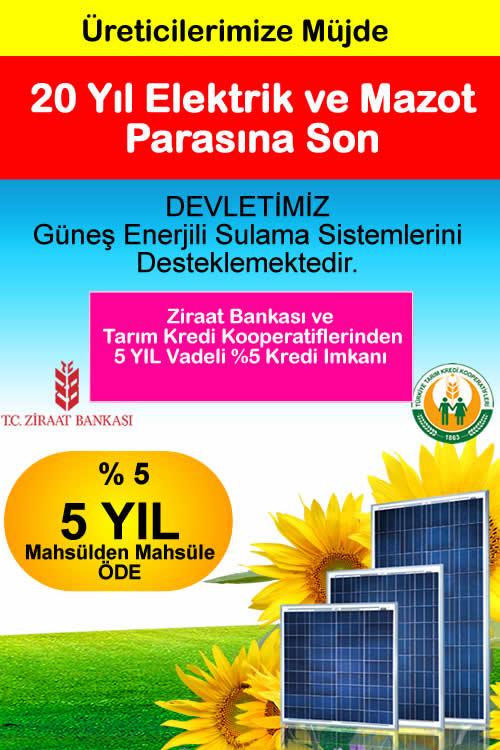 Ziraat Bankası Sübvansiyonlu Kredi