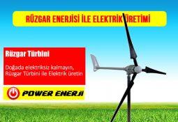 rüzgar enerjisi ile elektrik üretimi