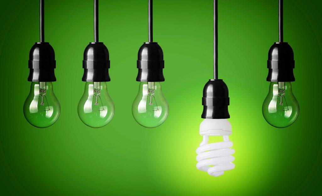 Energy-saving-bulb-with-four-filament-bulbs