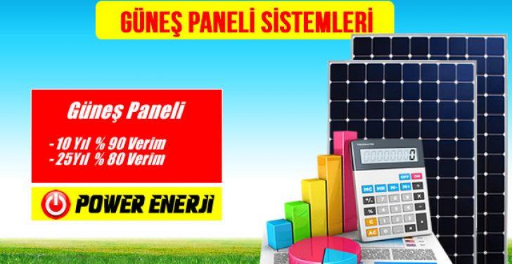 Güneş Paneli Sistemi nedir Fiyatı