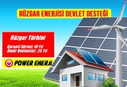 rüzgar enerjisi devlet desteği teşvikleri