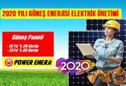 2020 güneş paneli fiyatı, güneş enerjisi elektrik üretimi maliyeti