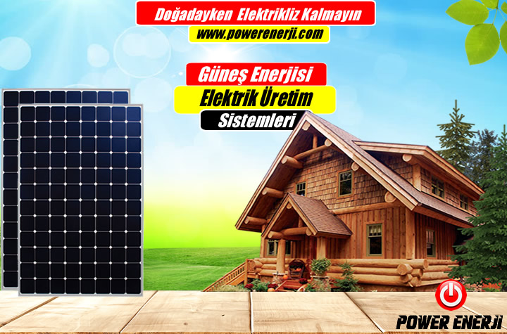 bağ evleri için güneş enerjisi elektrik üretimi fiyatı
