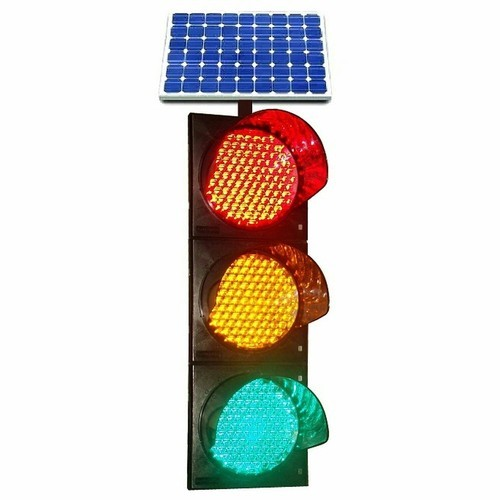 solar powered traffic light signaling system