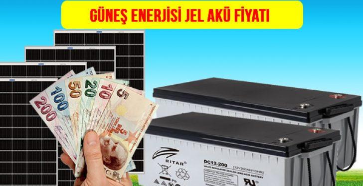 güneş enerjisi aküsü jel akü fiyatı