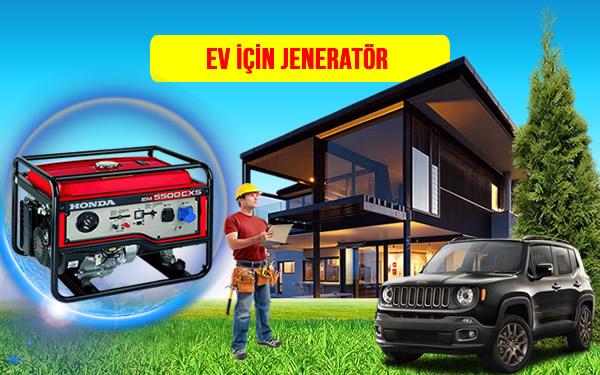 ev evler için dizel, benzinli jeneratör fiyatı