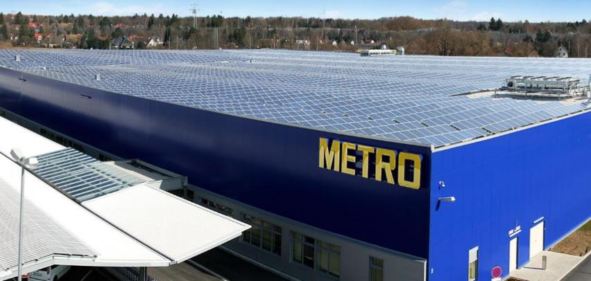 Solar çatı sistemi