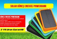 solar powerbank güneş enerjili şarj cihazi