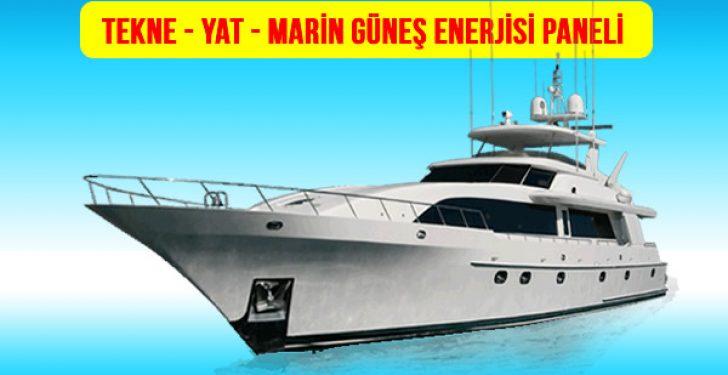 tekne-yat-marin-tekne solar panel-fiyatları-güneş paneli