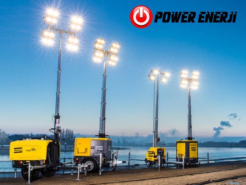 ışık kulesi light tower