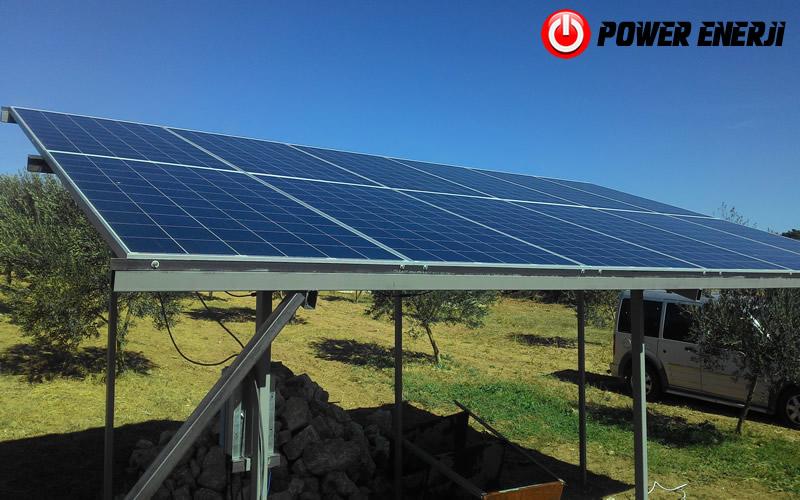 güneş enerjisi tarımsal sulama sistemi