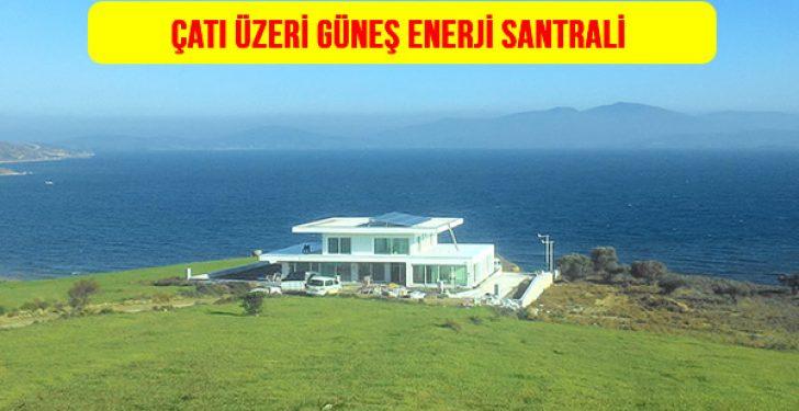 Çatı üstü güneş enerji santrali 10 kw 20 kw 50 kw 100 kw 250 kw