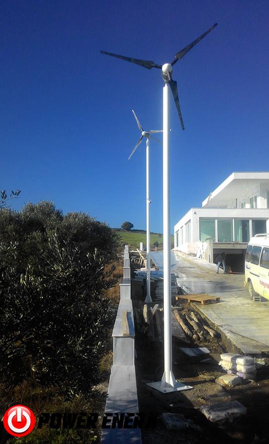 ev tipi rüzgar türbini kurulumu fiyatı