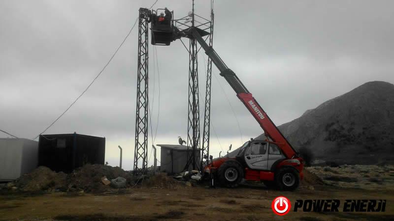 ruzgar turbini elektrik üretimi