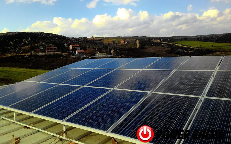 10 kw çatı üzeri güneş enerji santrali. (11)