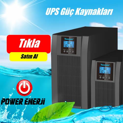 ups kesintisiz güç kaynakları 3kva,5kva,6kva,10kva, online ups
