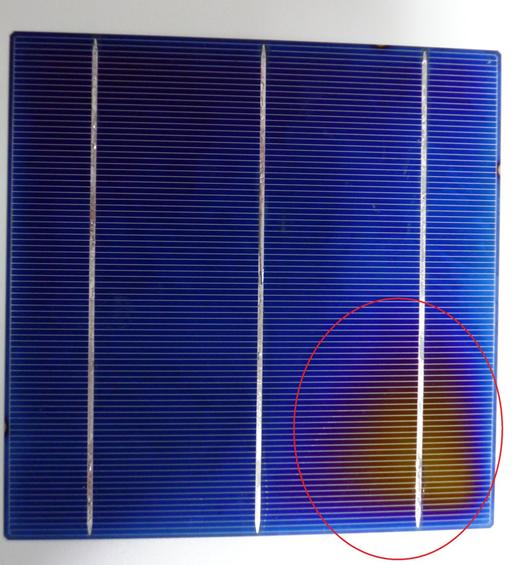 B Grade 2.kalite Hücre Güneş Paneli ( Solar Panel) görünümü