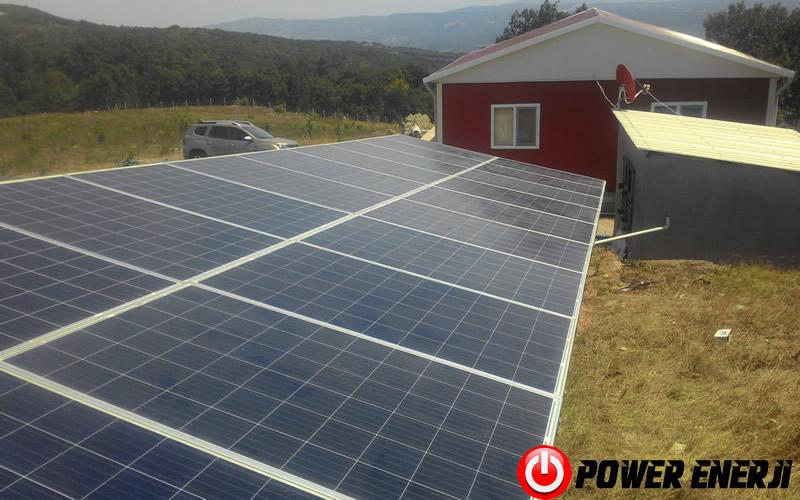 güneş paneli ile dalgıç pompa çalıştırma