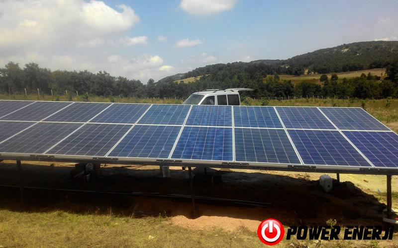 Çanakkale Güneş Enerjili Tarımsal Sulama Sistemi