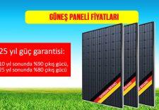 Güneş Paneli Fiyatları Büyük (250 Watt, 265 Watt, 270 Watt, 275 Watt, 280 Watt, 290 Watt, 300Watt ) ve Güneş Panel Fiyatları Küçük (20 Watt, 30 watt, 40 watt, 50 watt, 100 watt