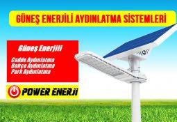 güneş enerjili aydınlatma sistemleri