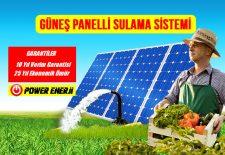 güneş paneli ile çalışan pompa, güneş enerjili tarımsal sulama sistemleri