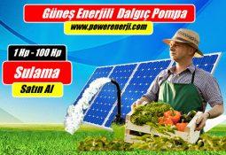 Güneş Enerjisi ile Dalgıç Pompa Çalıştırma