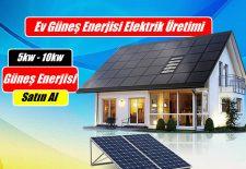 5 KW Güneş Enerjisi Kurulum Maliyeti