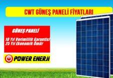 CWT 260 265 270 275 280 285 Watt Polikristal Güneş Paneli Fiyati