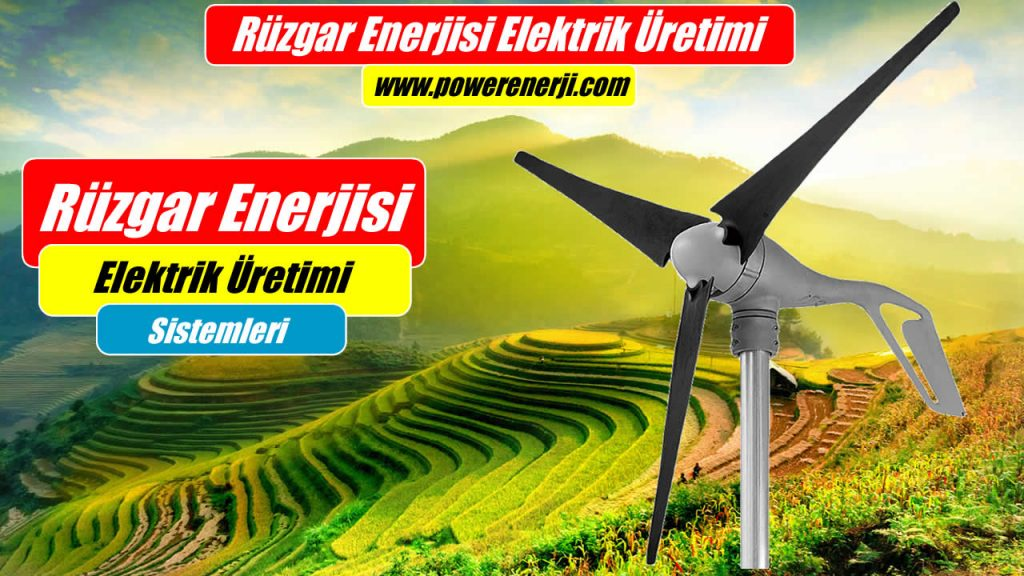 Ev Tipi Rüzgar Türbini Muazzam Kurulumu Projemiz 1000watt 1500watt 2000watt