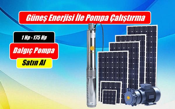 Güneş Enerjili Sulama Sistemleri Kurulumu ile Dalgıç Pompa Çalıştırma-haber