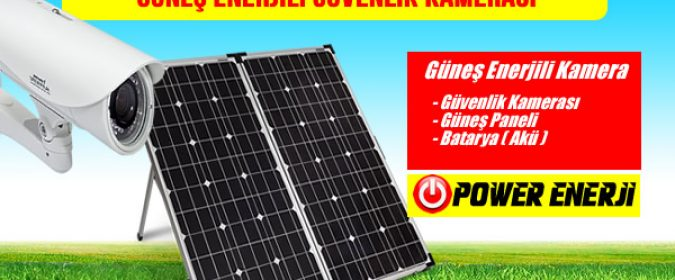 güneş enerjili kamera güneş paneli ile çalışan kamera güvenlik sistemi