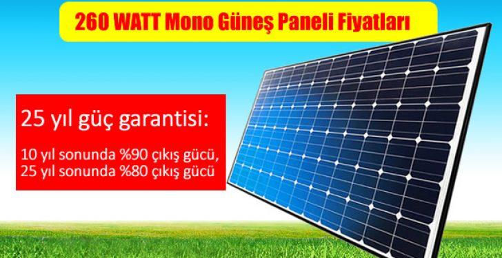 260-watt-solar-gunes-paneli-fiyatı-Güneş paneli, solar panel, solar modül, güneş modülü, fotovoltaik panel